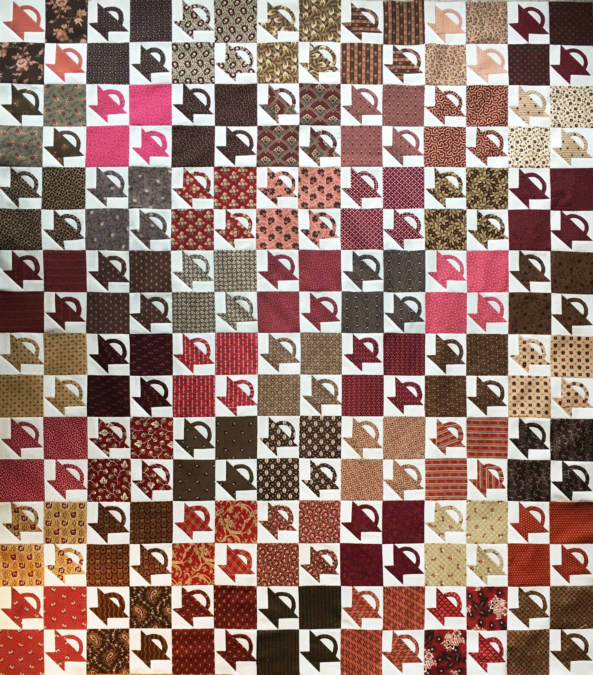 4 Patch Crib Quilt Top Q Is For Quilter