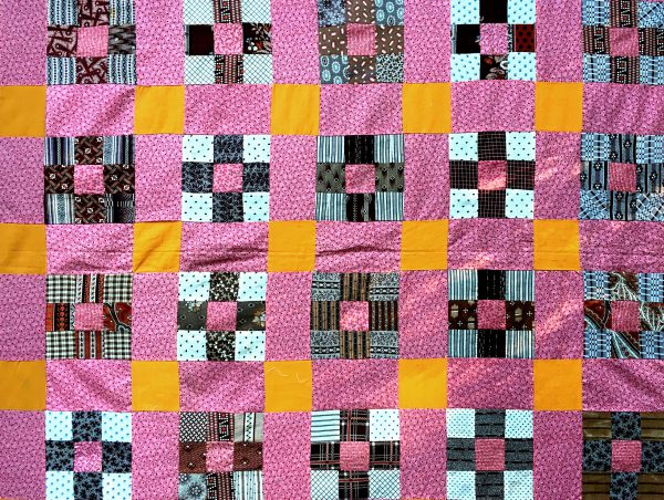 Antique-Double-Pink-and-Cheddar-9-patch-3