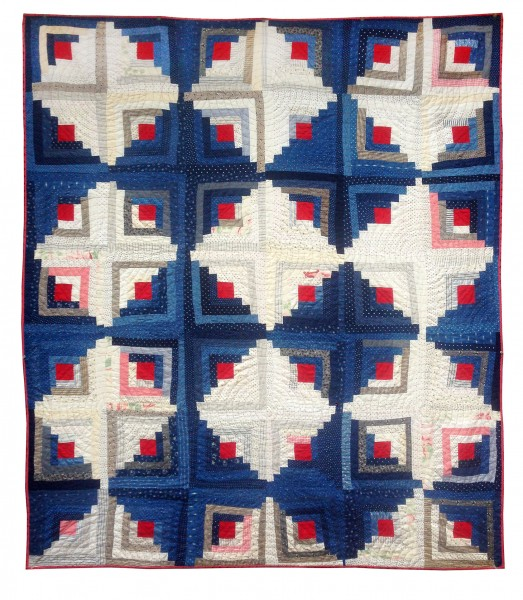 Antique-Log-Cabin-Quilt-1