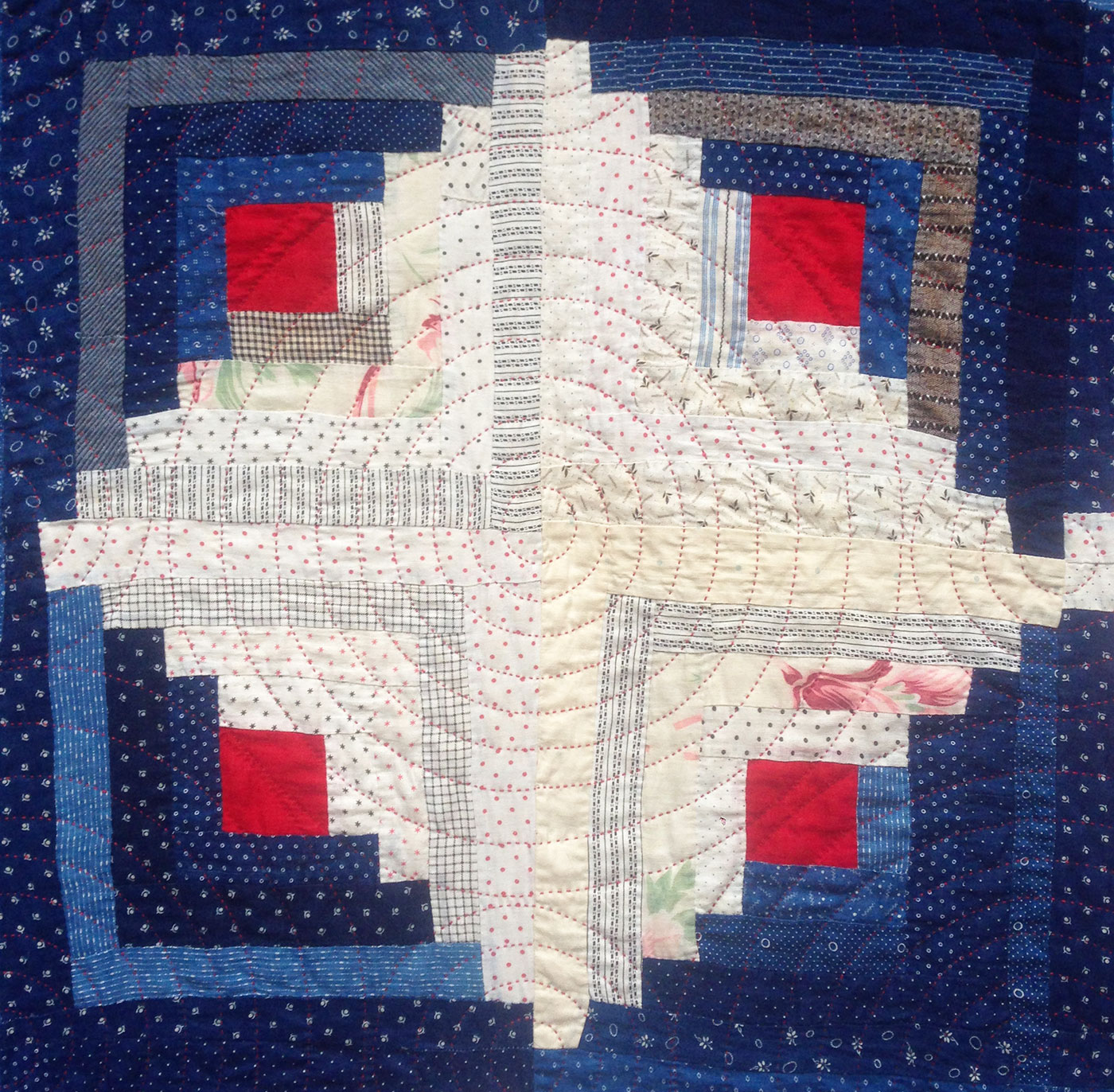Antique log cabin quilt q is for quilter