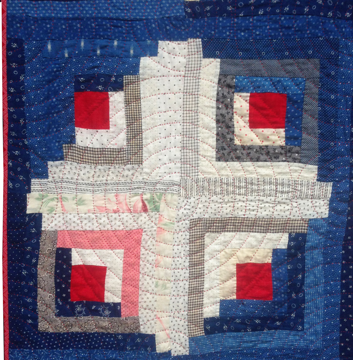 Antique-Log-Cabin-Quilt-3