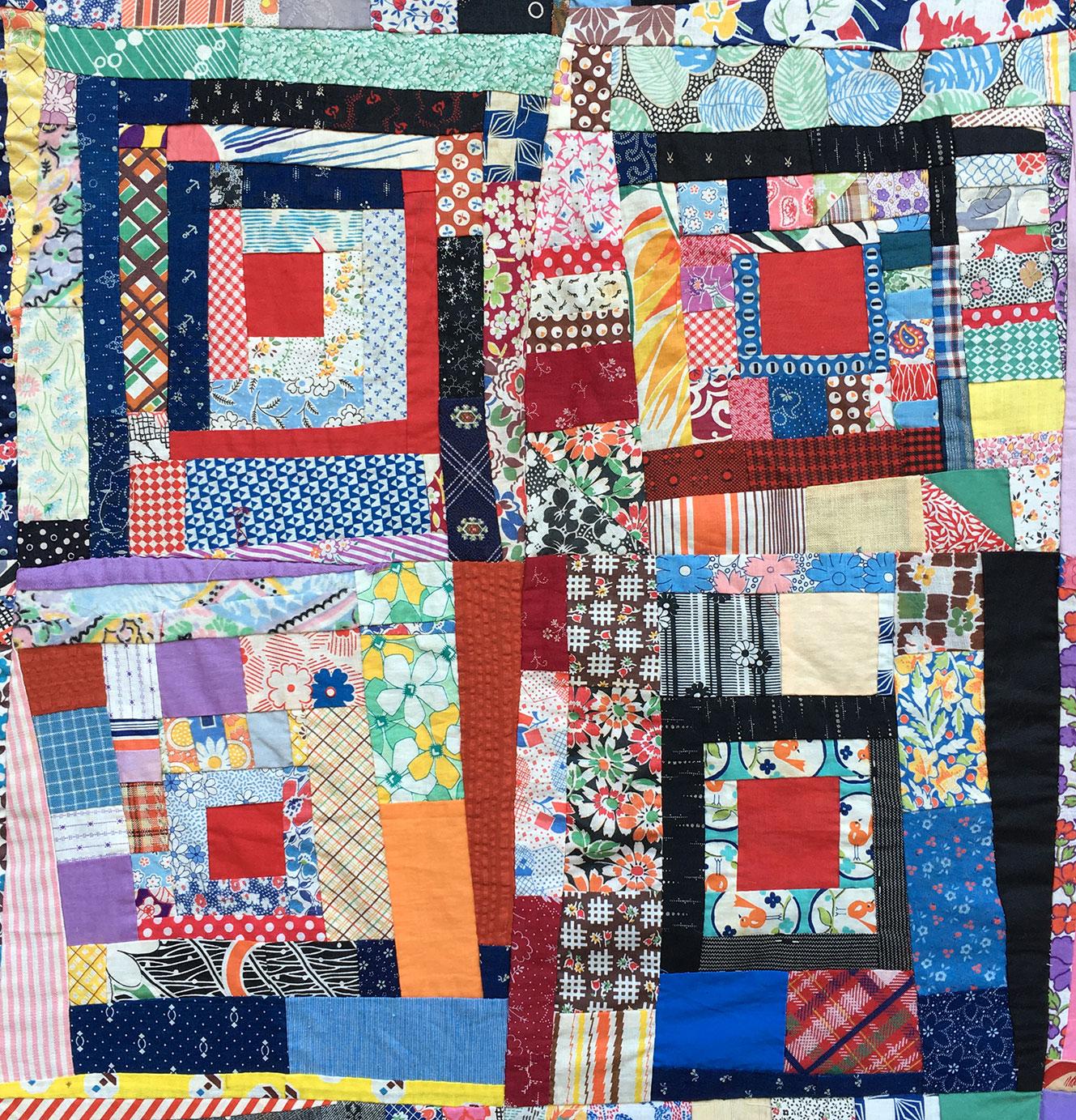 Vintage Quilt Top 61