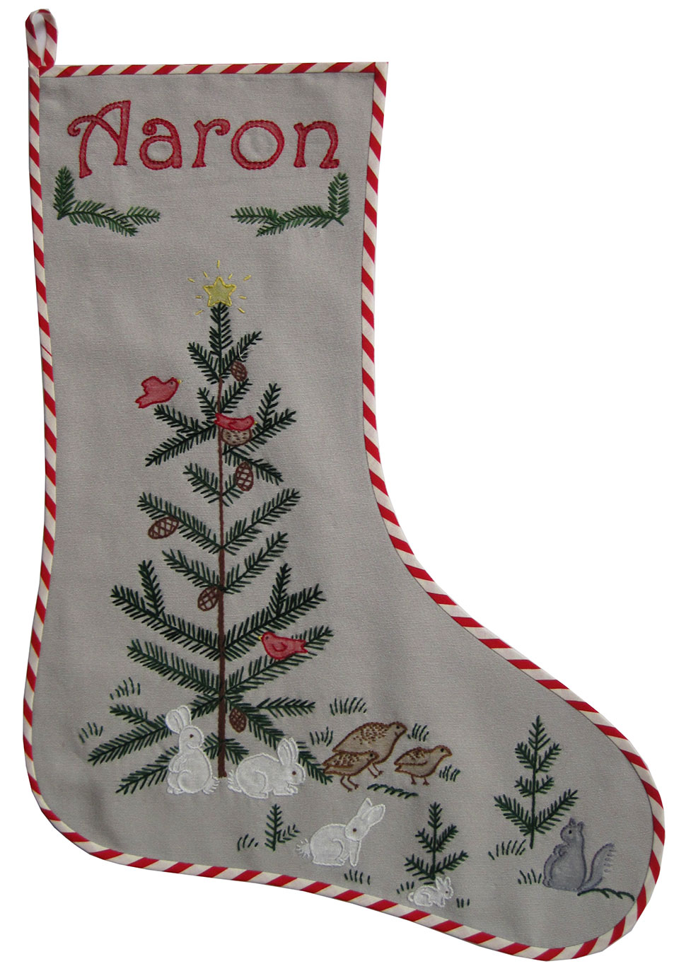 Embroidered-Christmas-Stocking