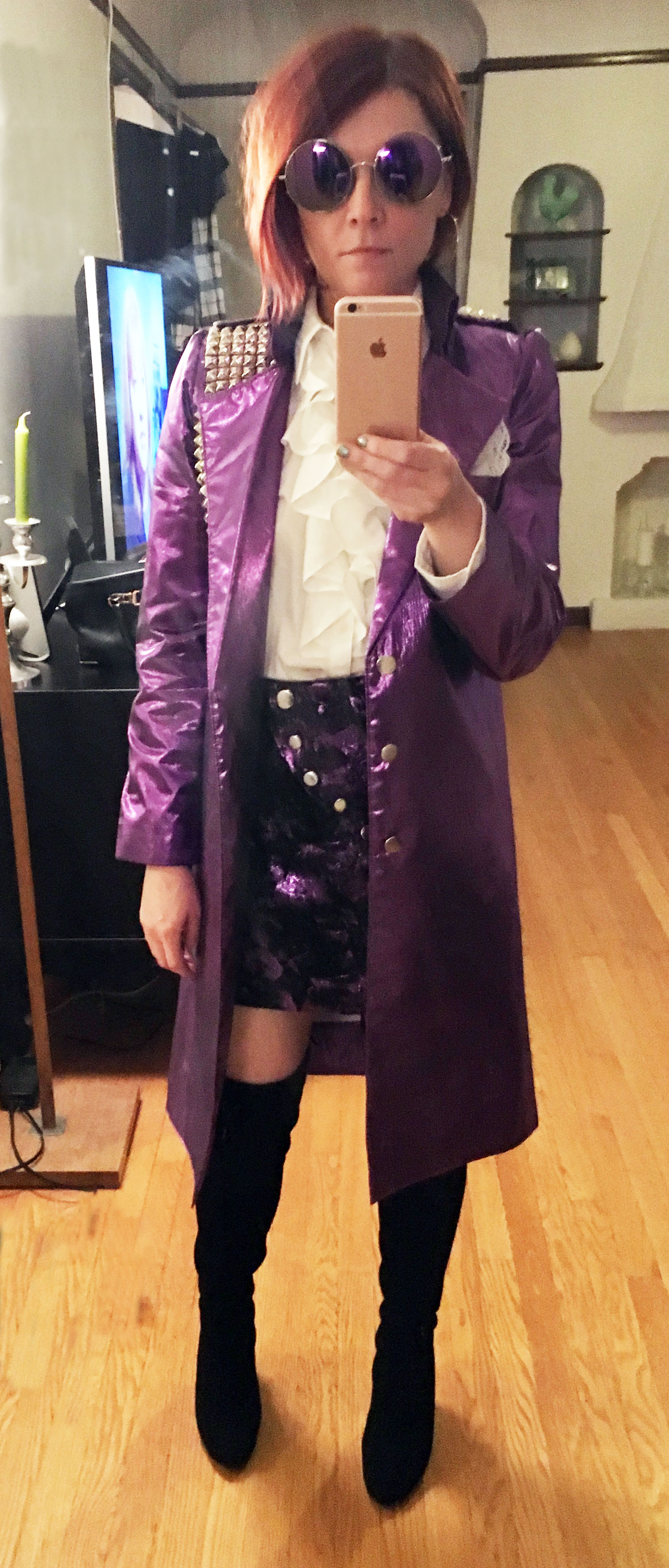 A Prince Purple Rain Costume For Emily Q Is For Quilter