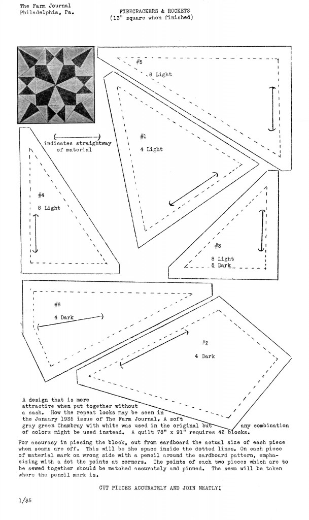 Farm-Journal-quilt-pattern-Firecrackers-and-Rockets-2