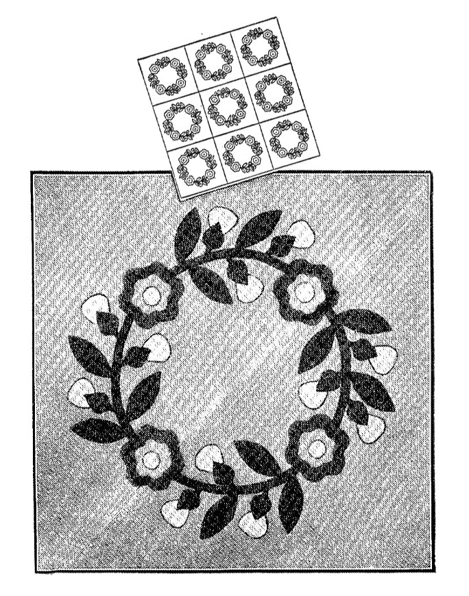 Farm-Journal-quilt-pattern-Rose-Wreath-1937-3