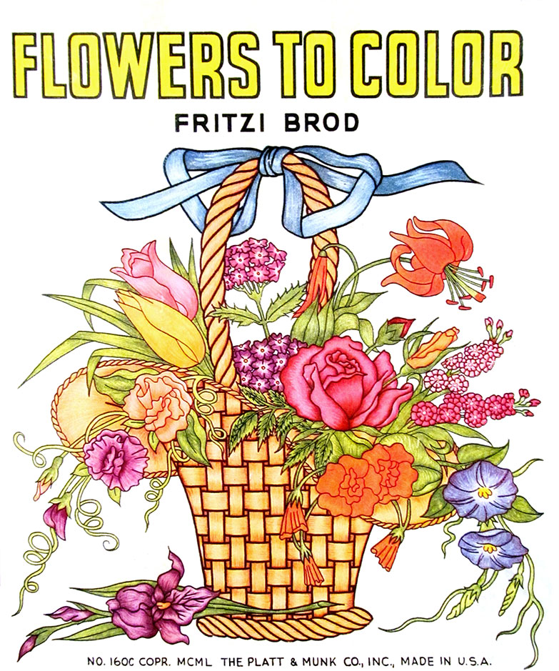 Flowers-to-Color-cover
