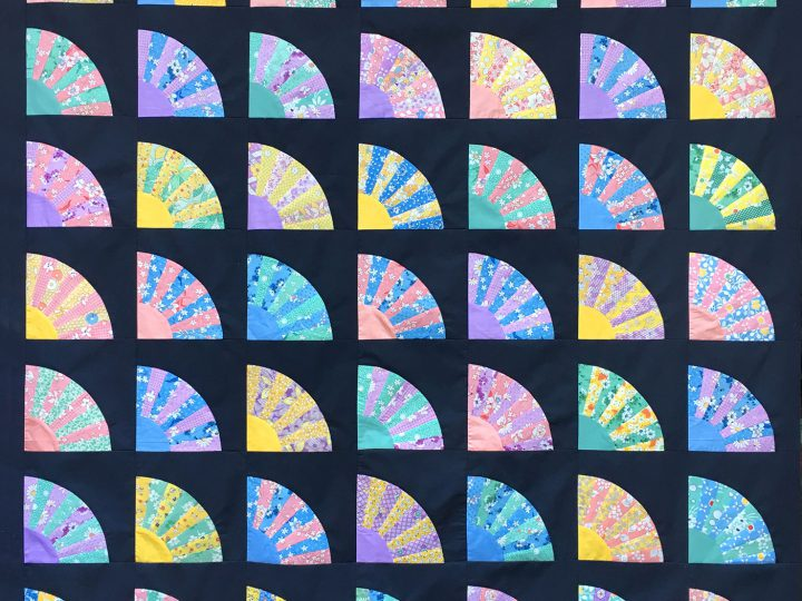 Grandmother's-Fan-Quilt-Pastel-on-Black