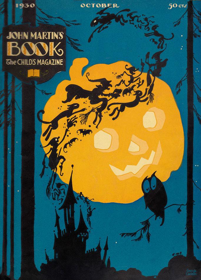 John-Martin's-Book-October-1930