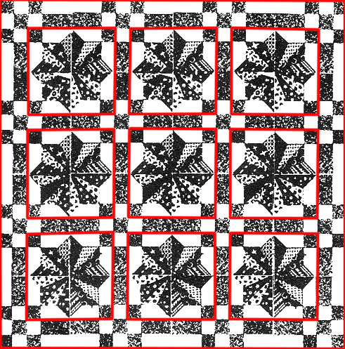 Laura-Wheeler-Sunburst-Quilt-Pattern-alternative-construction