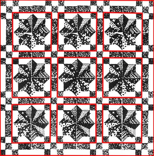 Laura-Wheeler-Sunburst-Quilt-Pattern-alternative-construction