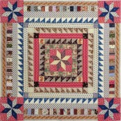 Lemoyne-Star-Medallion-Doll-Quilt-Top