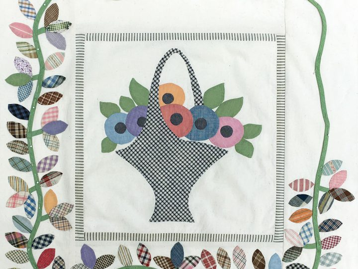 Liberated-Basket-Medallion-Quilt-WIP