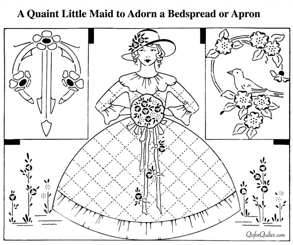Little-Maid-Embroidery-Pattern-1922