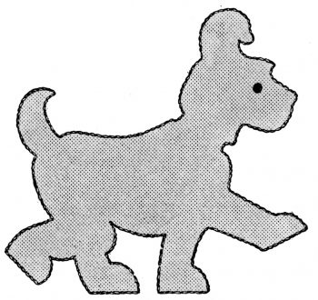 McCalls-1462-Applique-Animals-dog