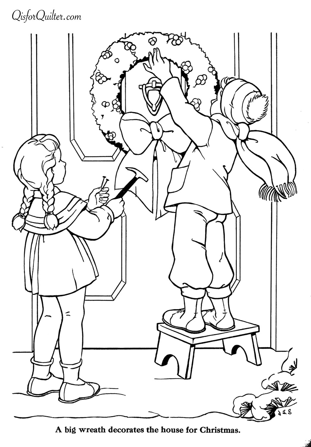 1000 images about Christmas and Winter Coloring Pages on