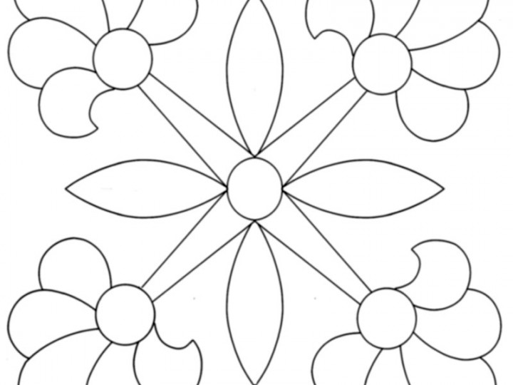 Mexican-Rose-Applique-Quilt-Pattern