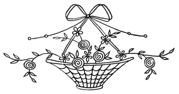 Newspaper-Embroidery-Transfer-Basket-5