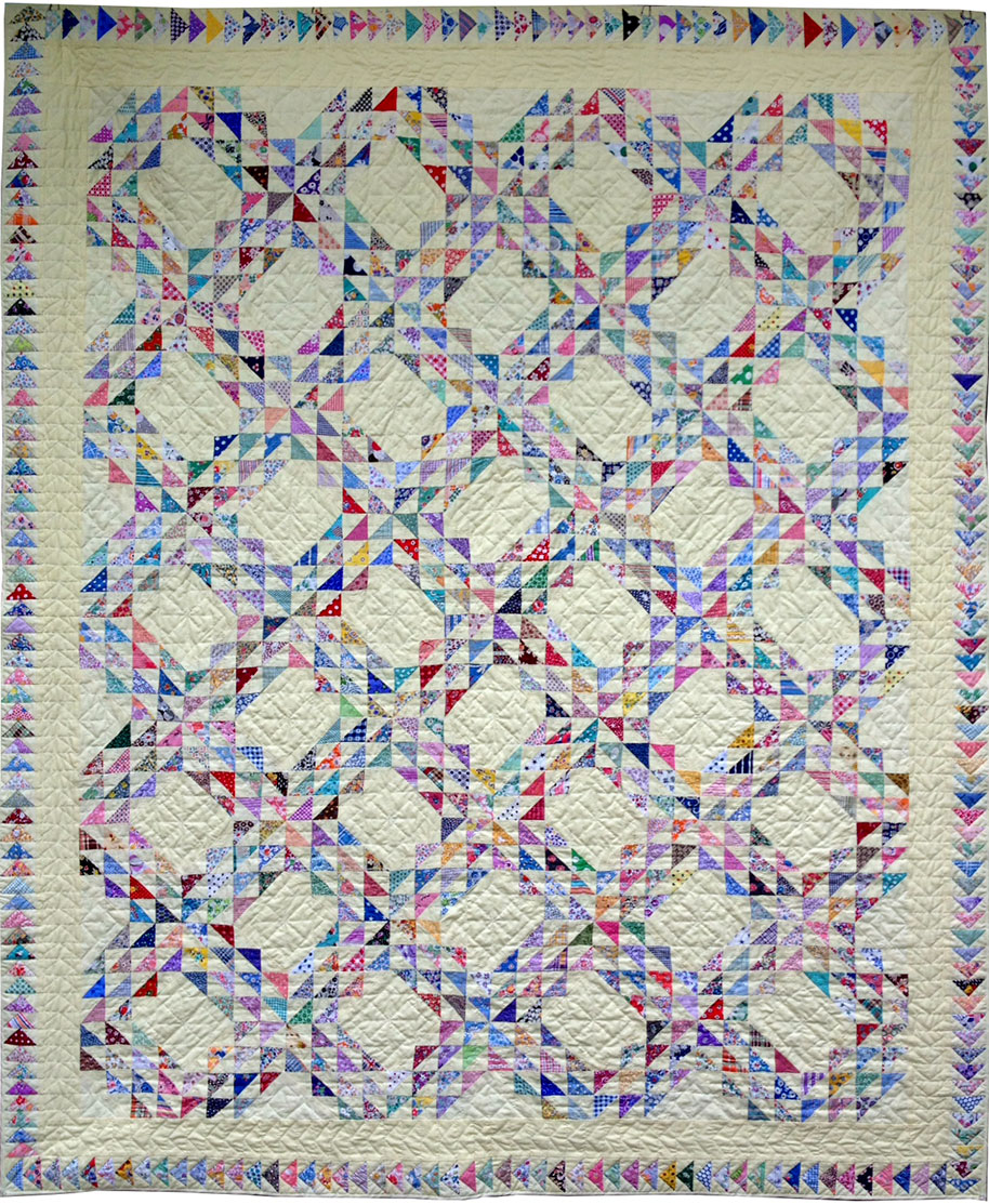 Ocean Waves Quilt Q Is For Quilter
