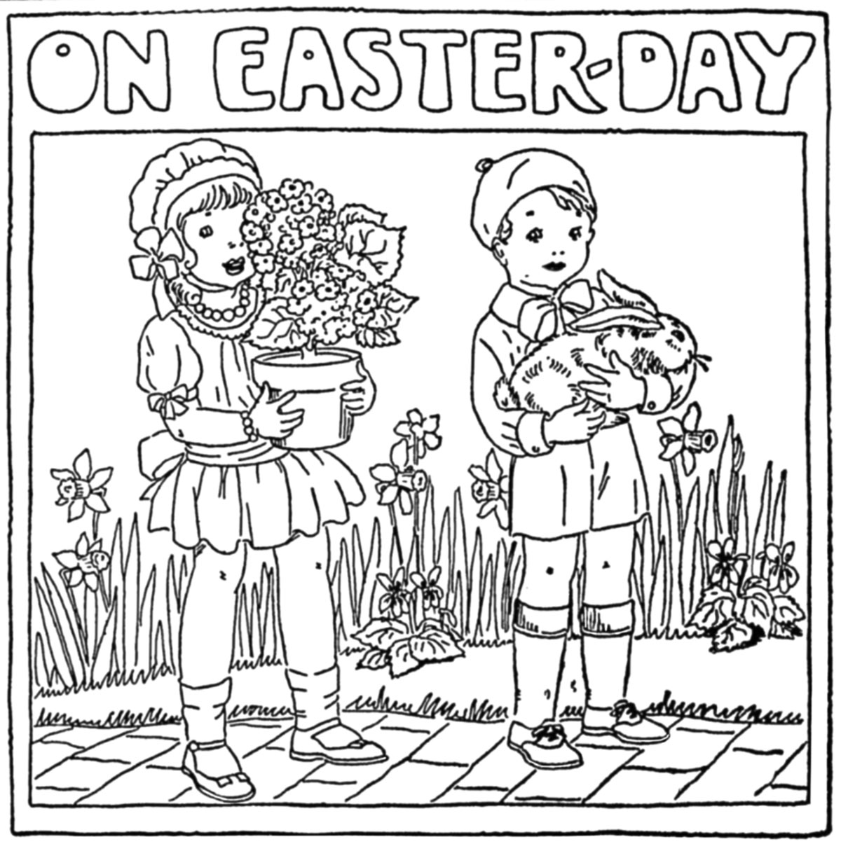 vintage coloring pages 1950s - photo#39