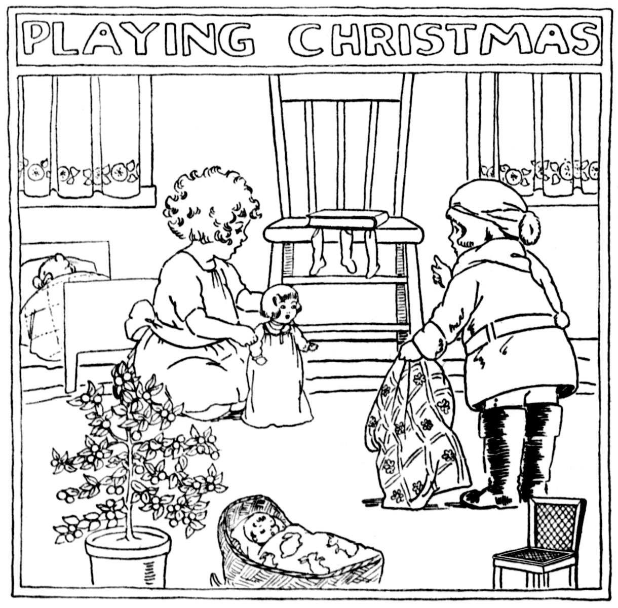 Playing-Christmas