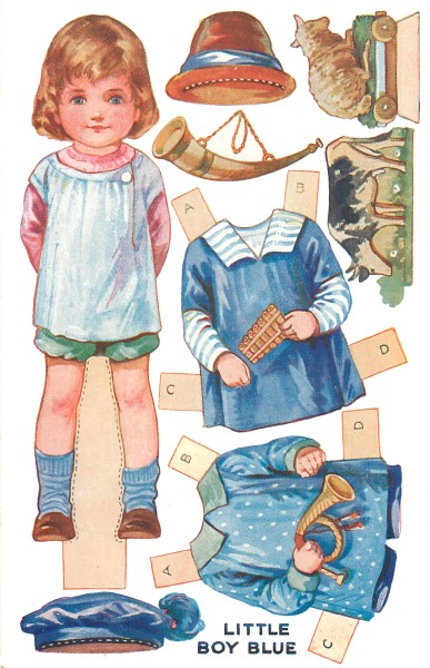 Postcard-Little-Boy-Blue