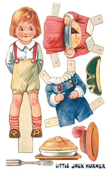 Postcard-Little-Jack-Horner-2