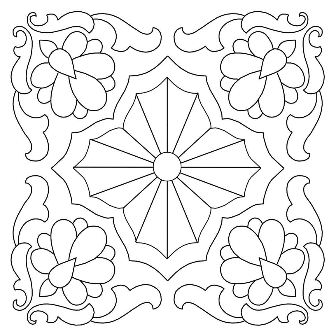 Hand Quilting Designs From Vintage Embroidery Transfers Q Is For
