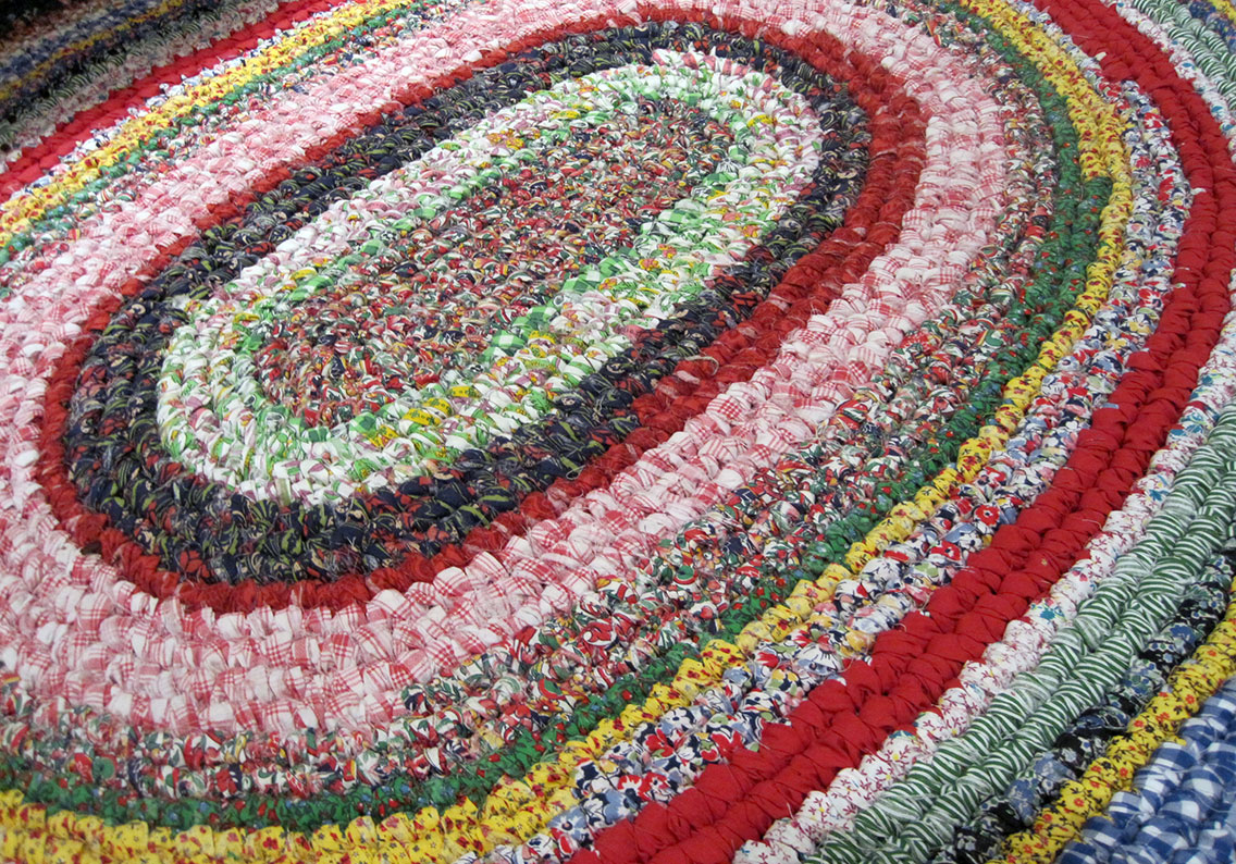 Reminiscing About Rag Rugs – Q is for Quilter