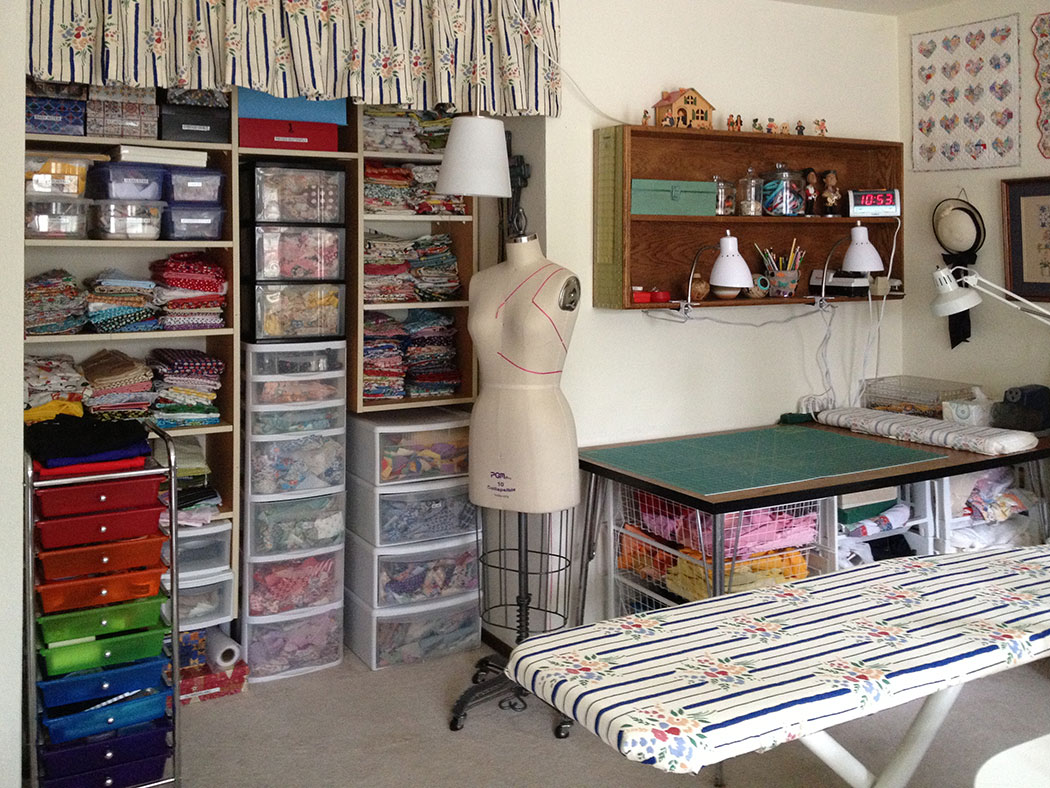Sewing Room Makeover Q Is For Quilter