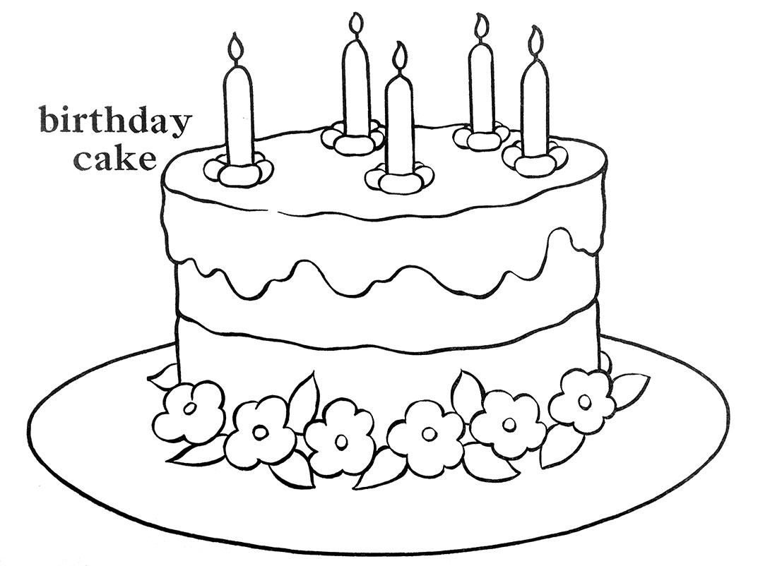 Pictures Of Birthday Cakes Drawings : Q is for Quilter