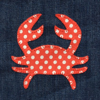 denim-applique-quilt-crab