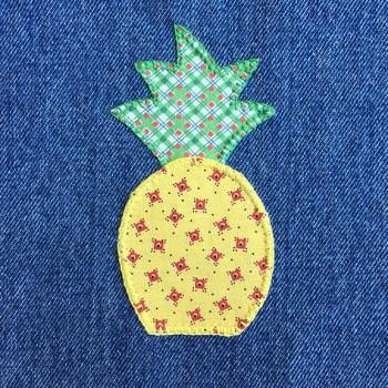 denim-applique-quilt-pineapple