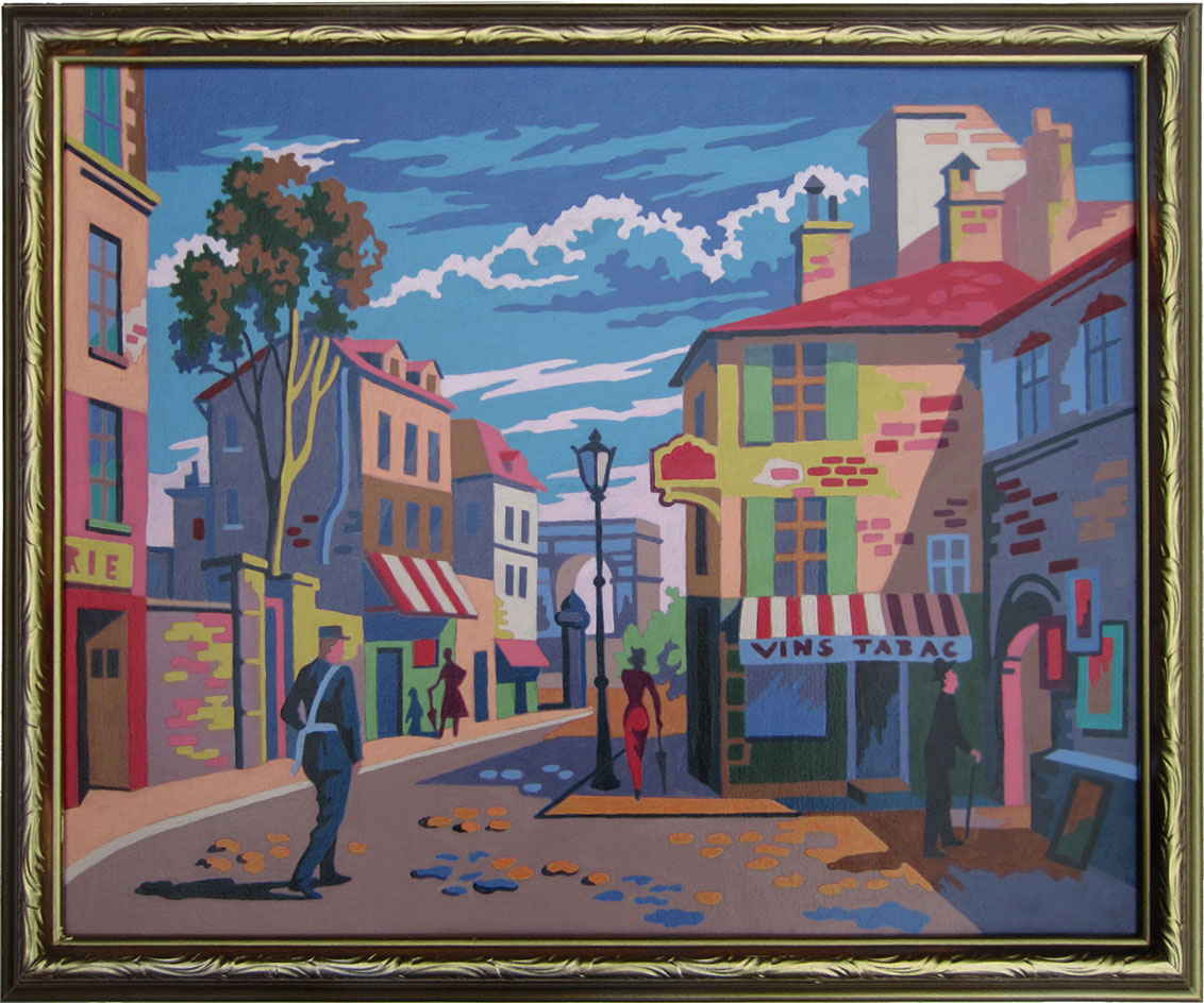 paint-by-number-paris-street-scene
