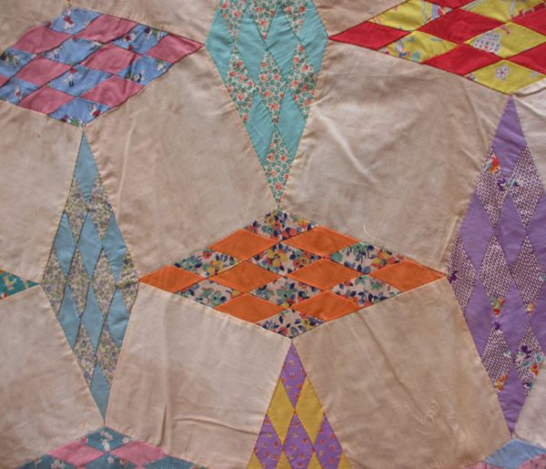unknown-diamond-quilt-top-before-photo